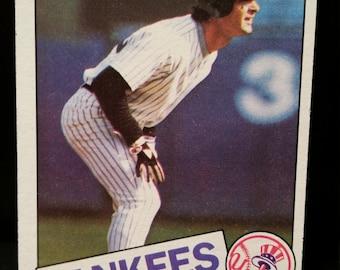 Don Mattingly 1985 Topps Baseball Card #665 New York Yankees NY