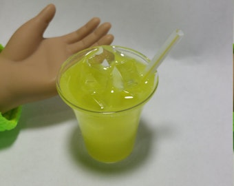 Lemonade, American Girl Doll Food, 18 Inch Doll Food
