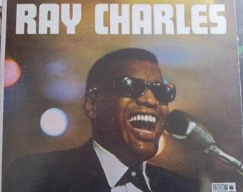 Ray Charles, Self-Titled Album, Vintage Record Album, Vinyl LP, Coronet Records, Classic Rhythm and Blues, Funk, Soul Music, Piano Legend