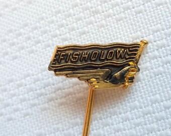 Fisholow Pin, Car Manufacturing Pin , British Car Parts Pin, Britain Industry Pin, Fisholow badge