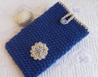 crochet tablet cover samsung galaxy tab 3 7 inch tablet case tablet cover kindle fire HD sleeve ipad mini nexus 7 nook tablet cover