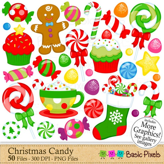 paintings christmas candy - photo #12