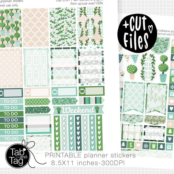SPRING SUMMER Printable stickers for the Happy Planner with free ...