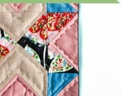 Custom Listing - Reserved   Mini Modern Quilt   Hand Quilted Mini   Shannon Fraser Designs