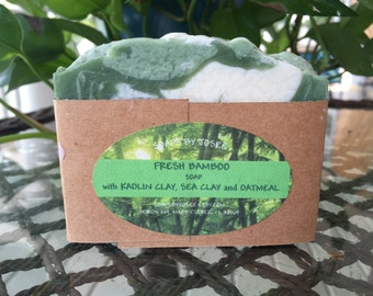 FRESH BAMBOO Old Fashioned Lye Soap