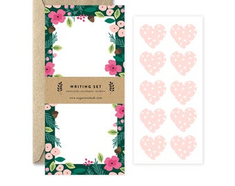 Woodland Floral Writing Set