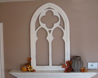 Clover Cathedral Window Mirror