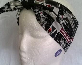 Star Wars Rebel Alliance headband, handmade, cotton, 88cm x 8cm