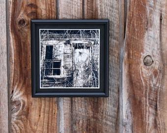 """Vermont Haunts Mini Print - """"Overgrown"""""""