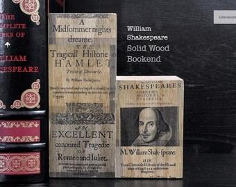 Literary Bookend: William Shakespeare