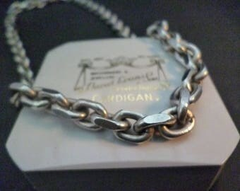 """A superb unique heavy and chunky silver necklace - Men's - 925 - sterling silver - 92.2 grams! - 20"""" - Full UK Hallmark"""