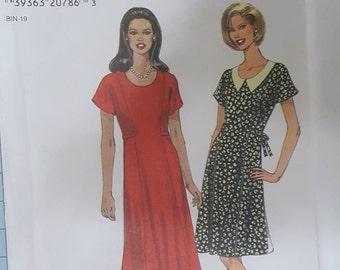 Simplicity 7823 Misses Dress Size 6-16