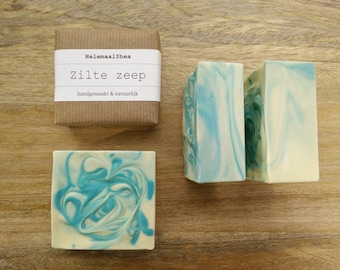 Brine soap / soleseife / salt water soap / for all skintypes / handmade and natural / seasalt soap scented with essential oil