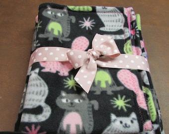 Gift Set,Baby blanket, pet pad, pet blanket,cat blanket, crate mat, pet bedding, baby bedding, baby gift, girls gift, changing  pad,Birthday