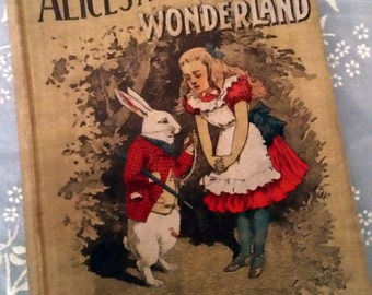 Antique Alice's Adventures in Wonderland (The Manhattan Young People's Library) by Lewis Carroll