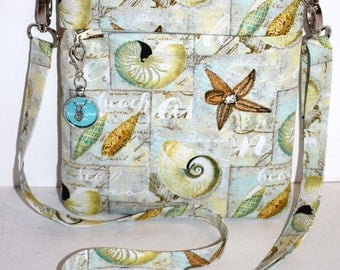 Beach crossbody bag