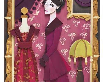Lady Mary Print