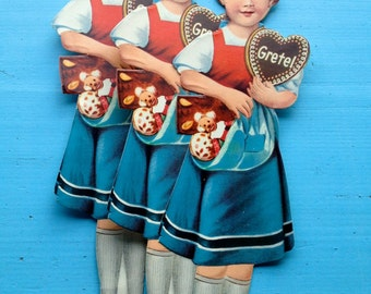 Gingerbread picture Gretel