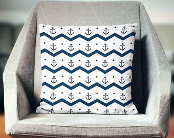 Nautical Décor | Nautical Pillow | Nautical Pillow Case | Nautical Throw Pillow | Nautical Pillow Cover | Nautical Cushion | Nautical