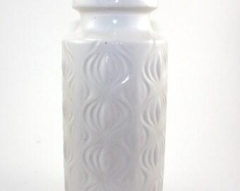 """Scheurich Keramik Amsterdam """"Onion"""" Vase 285-23 - West Germany"""