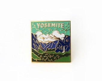 Yosemite Enamel Pin