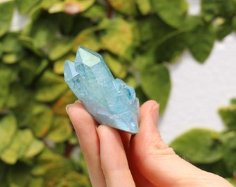 Aqua Aura crystal ~ terminated, magical ~ *