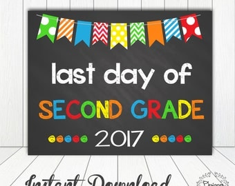 It's just a graphic of Gargantuan Last Day of 2nd Grade Printable