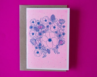 Floral - Risograph Gift Card