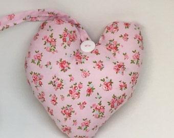 Lavender sachet, gift for mum, lavender heart, hanging door decor, room scenters, hanging heart, Mother's Day gift, birthday gift, scenter