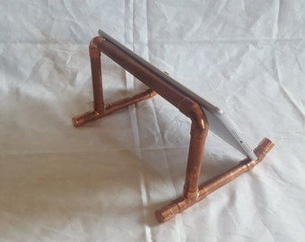 Copper iPad stand/recipe book stand