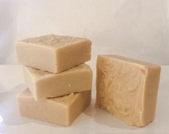 Castile Soap with Goat's Milk - Natuaral Soap, Handmade Soap, Essential Oil Soap