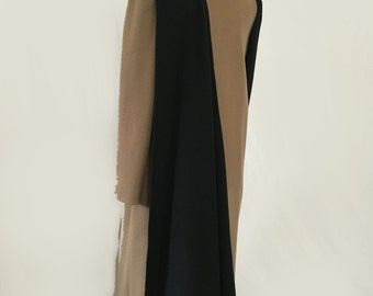 Attached Scarf Coat