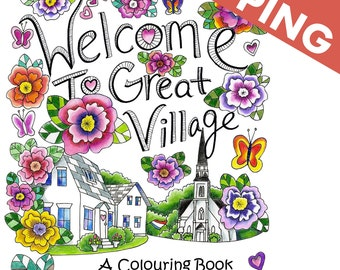 Great Village Colouring Book