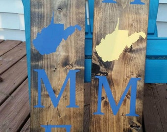 Personalized Home Sign (any state)