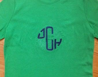 5% off! Monogrammed Ladies' Shirt - Tee T-Shirt Scoop Neck - Coupon Code Details Below