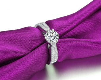 solitaire engagement ring,white gold engagement rings,diamond anniversary bands,promise rings for girlfriend,2 carat solitaire diamond ring