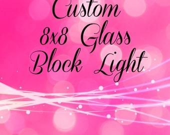 Custom Glass Block