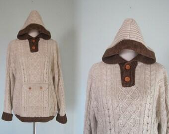 Vintage mens hoodie | Etsy
