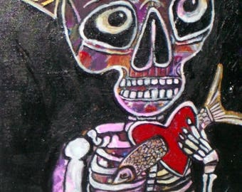 Mr Bones Original Painting