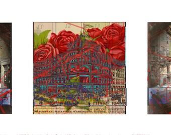 Boston Street Triptych