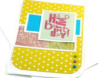 Women Birthday Cards - Bday Cards For Her - Girlfriend Birthday - Happy Birthday Her - Cards For Sister - Mom Birthday Card - Greeting Cards