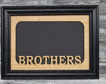 brothers picture frame gift for brothers siblings frame family picture frame brother gift custom frame