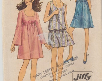 Simplicity 8229 Misses' Jiffy Dress Size 10 Bust 32.5""