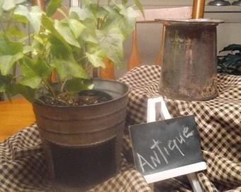 Vintage Metal Pitcher, US KREAMER Pitcher, Farmhouse Decor, metal. Pitcher vase, WW11 Mess Tent Pitcher, Home Decor