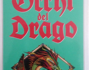 Gli Occhi del Drago  by Stephen King in Italian, 1988, translation by Tullio Dobner