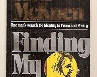 Rod McKuen Finding My Father: One Man's Search for Identity In Prose and Poetry. RARE 1977 Berkley Edition  Paperback In Good Condition.