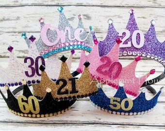 woman birthday crown,birthday custom Crown,Birthday Crown,First Birthday Party Crown,Adult birthday crown,girl birthday crown