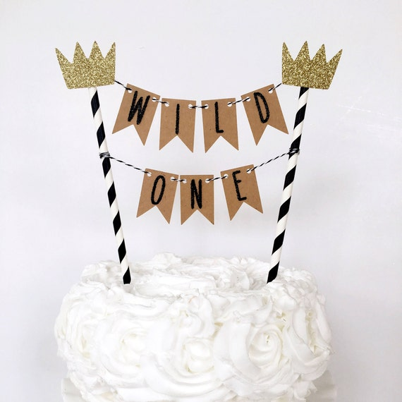 Where The Wild Things Are Cake Topper Wild One Cake Banner