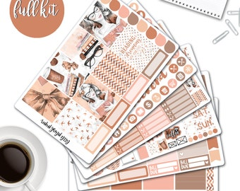 MATTE | Erin Condren Planner Stickers | Weekly Kit | Reading Is Dreaming | Vertical ECLP | Full Kit