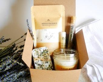 Spa gift set Spa Kit Gift Set for women Spa Set Gift Bath Salt Gift for her gift basket spa present bath salt gift basket spa gift basket